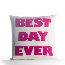 Alexandra Ferguson Best Day Ever Outdoor Throw Pillow FXO1448
