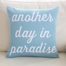 "Alexandra Ferguson ""Another Day in Paradise"" Outdoor Sunbrella Throw Pillow FXO1462"