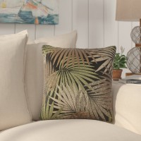 Bay Isle Home Brookridge Square Outdoor Throw Pillow BYIL1151