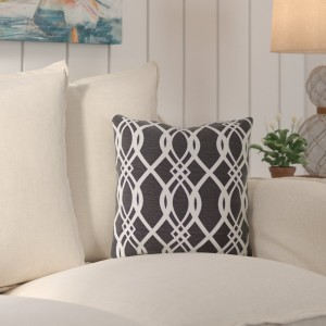 Beachcrest Home Hillview Outdoor Throw Pillow BCMH1563