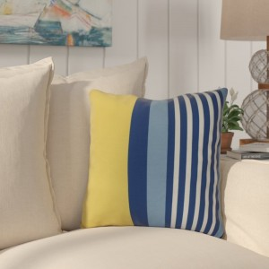 Breakwater Bay Bartow Beach Shack Outdoor Throw Pillow BRWT5787