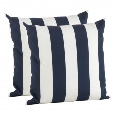 Breakwater Bay Feuerstein Striped Outdoor Pillow Cover THJL1005