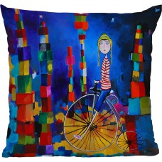 Deny Designs Robin Faye Gates Out of Bounds Throw Pillow NDY2738