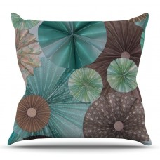 East Urban Home Atlantis by Heidi Jennings Outdoor Throw Pillow HACO8595