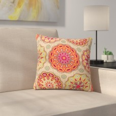 East Urban Home Festival Folklore by Suzie Tremel Outdoor Throw Pillow HACO9838