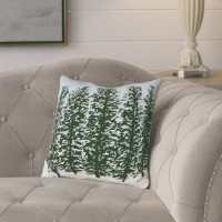 Laurel Foundry Modern Farmhouse Meigs Hidden Forest Outdoor Throw Pillow LFMF3650