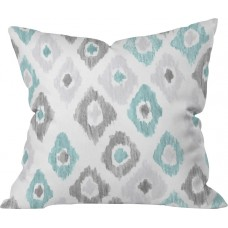 Mercury Row Cletus Quiet Ikat Outdoor Throw Pillow MCRR6962