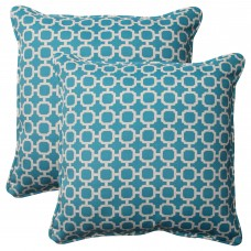 Pillow Perfect Hockley Corded Outdoor Throw Pillow PWP6167