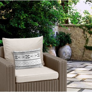 Union Rustic Beau Outdoor Lumbar Pillow UNRS3753