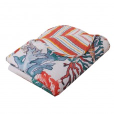 Barefoot Bungalow Atlantis Quilted Throw BFBG1045
