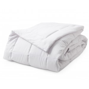 Downlite Micron Stripe Goose Down Alternative Blanket DWNL1091