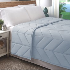 Latitude Run Rowden Chevron Luxe Blanket LTTN3226