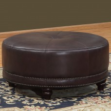 Lazzaro Leather Cindy Leather Pouf LAZ1680